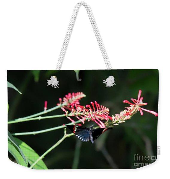 Butterfly In Flight Weekender Tote Bag