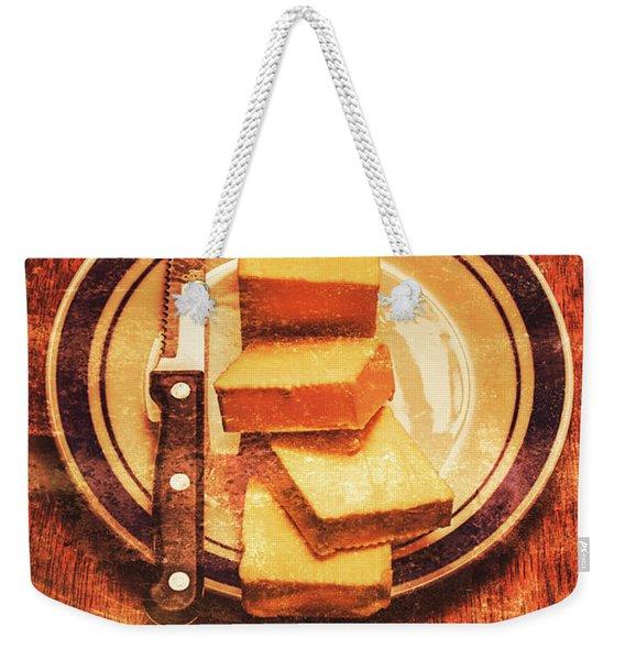 Butter Since Sliced Bread Display Weekender Tote Bag