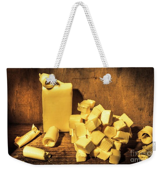Buttering Up Weekender Tote Bag