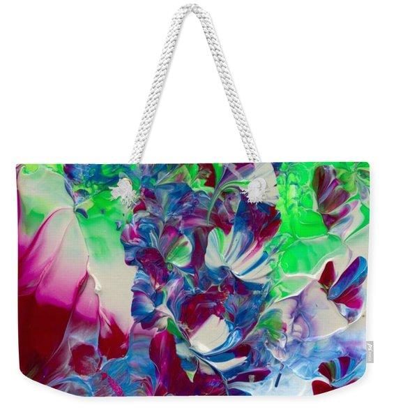 Butterflies, Fairies And Flowers Weekender Tote Bag
