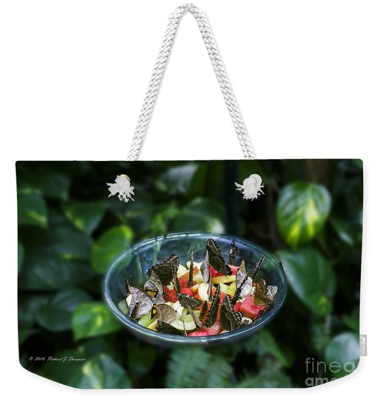 Butterflies Feeding Weekender Tote Bag