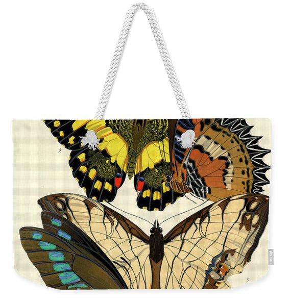 Butterflies, Plate-9  Weekender Tote Bag