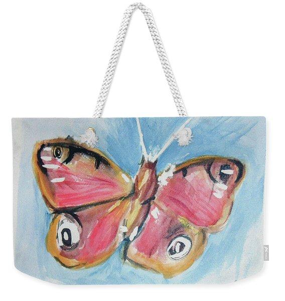 Butterfly 3 Weekender Tote Bag