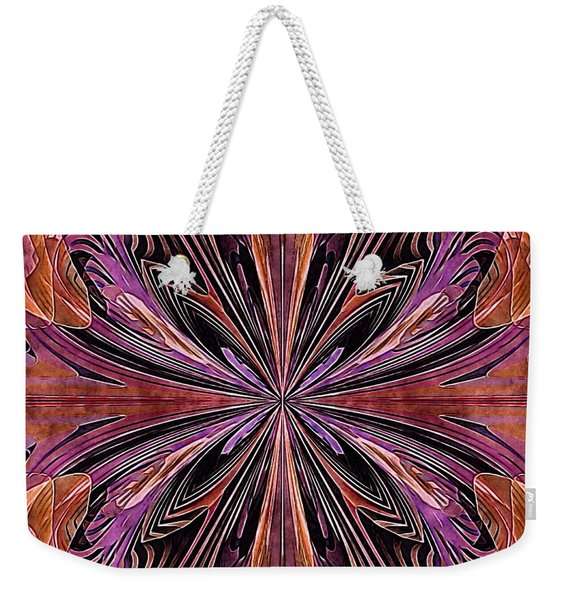 Butterfly Art Nouveau Weekender Tote Bag