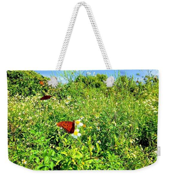 Butterfly Bonanza Weekender Tote Bag