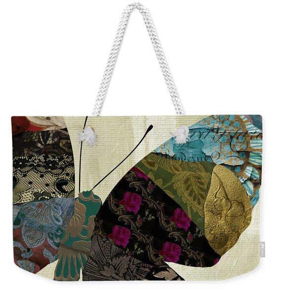 Butterfly Brocade II Weekender Tote Bag