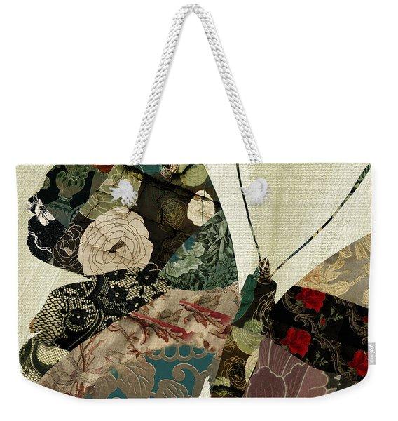 Butterfly Brocade IIi Weekender Tote Bag