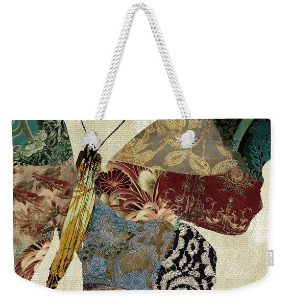 Butterfly Brocade Iv Weekender Tote Bag