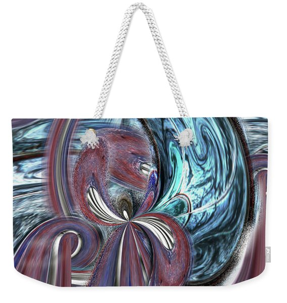 Weekender Tote Bag featuring the photograph The Butterfly Effect by Wayne King