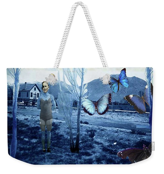 Butterfly Firing Squad Weekender Tote Bag