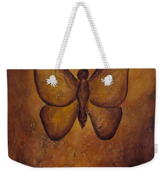 Butterfly Freedom Weekender Tote Bag