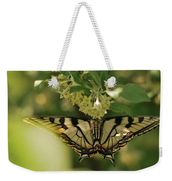 Butterfly From Another Side Weekender Tote Bag