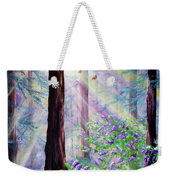 Butterfly Grove In Redwood Forest Weekender Tote Bag