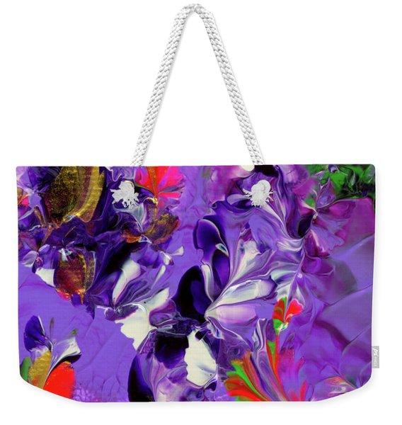 Butterfly Island Treasures Weekender Tote Bag