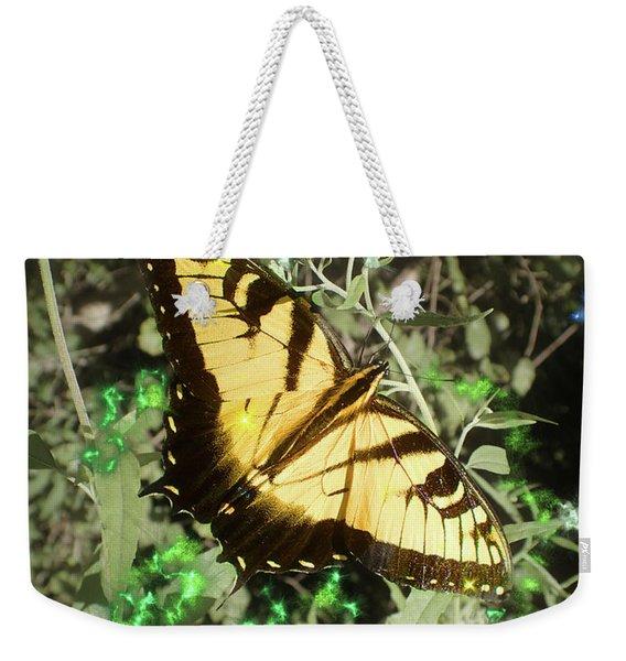 Butterfly Magic Weekender Tote Bag