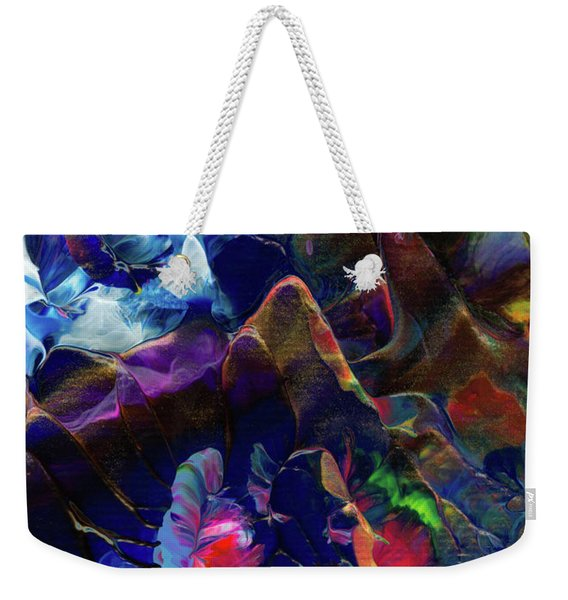Butterfly Mountain Weekender Tote Bag