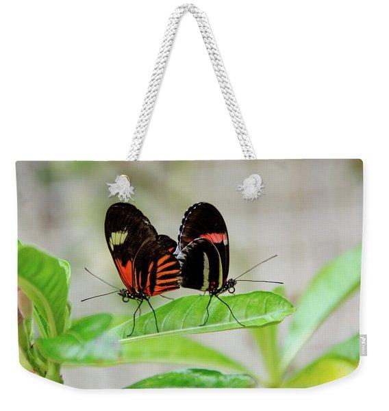 Butterfly Pair Weekender Tote Bag