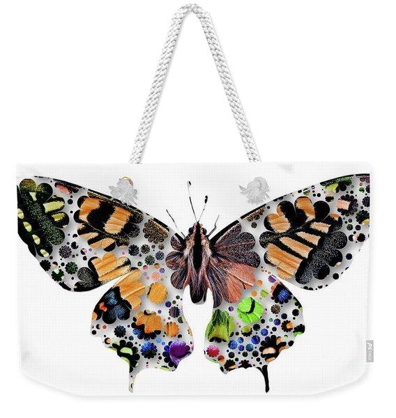 Butterfly Pop Art Weekender Tote Bag