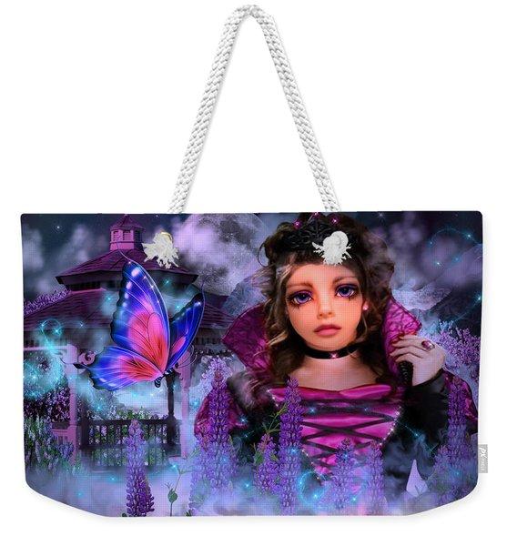 Butterfly Queen Weekender Tote Bag