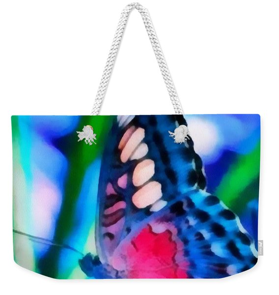 Butterfly Realistic Painting Weekender Tote Bag