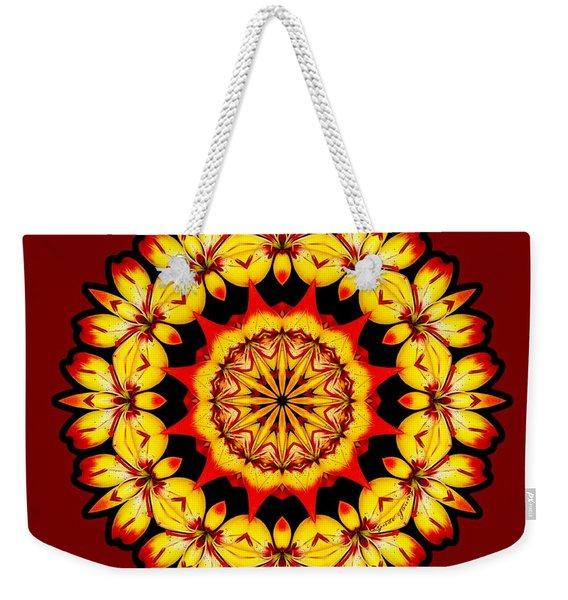 Butterfly Sun Weekender Tote Bag