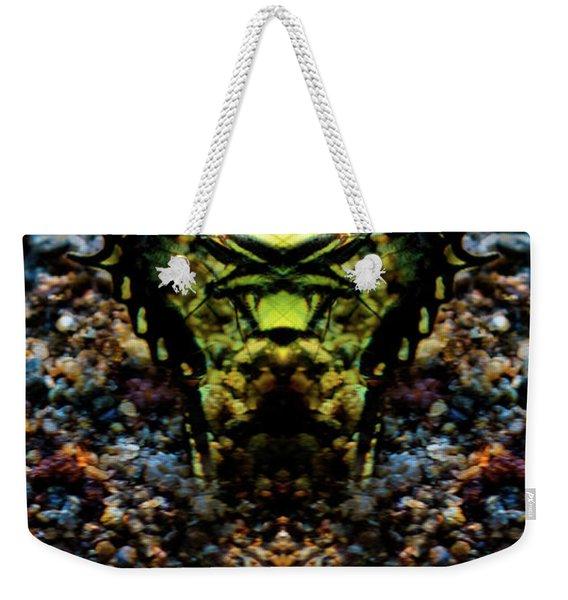 Butterfly Tiger Weekender Tote Bag