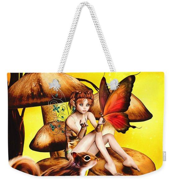 Butterfly Wing Envy Weekender Tote Bag