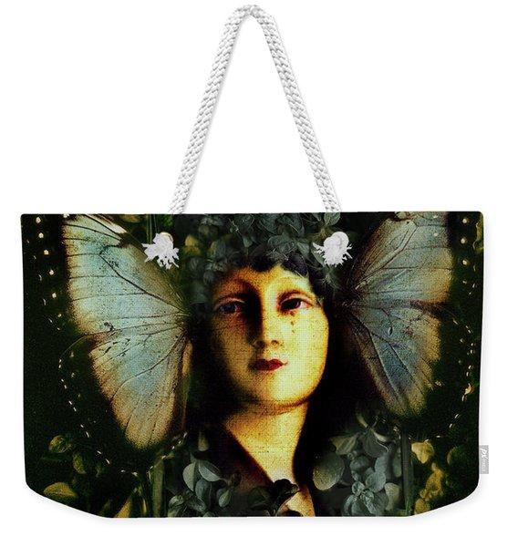 Butterfly Woman Weekender Tote Bag