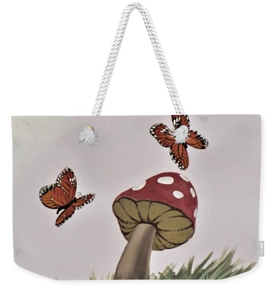 Butterlies Dancing Weekender Tote Bag