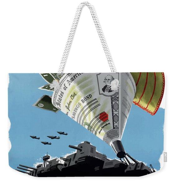 Buy War Savings Bonds Weekender Tote Bag