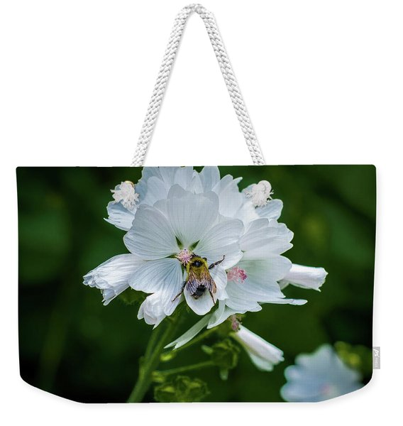 Buzz, Buzz, Buzz Went The  Bumble-bee Weekender Tote Bag
