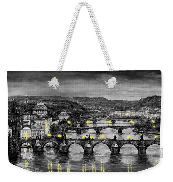 Bw Prague Bridges Weekender Tote Bag
