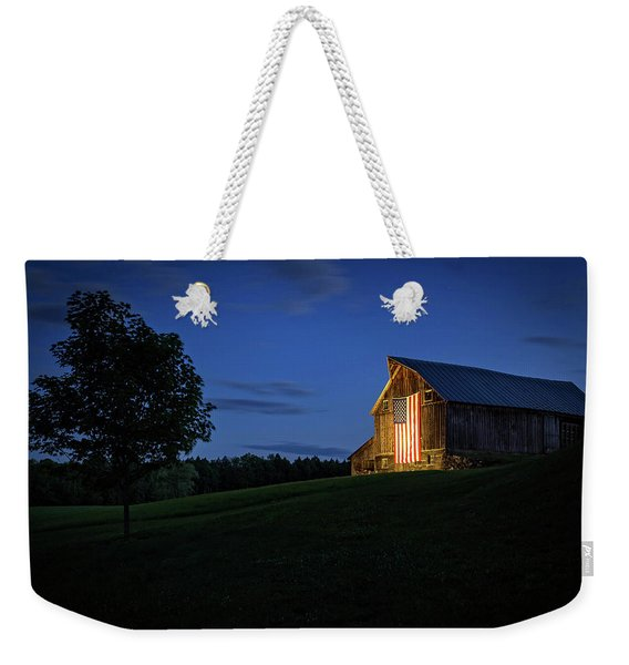 Old Glory By Dusks Early Light Weekender Tote Bag