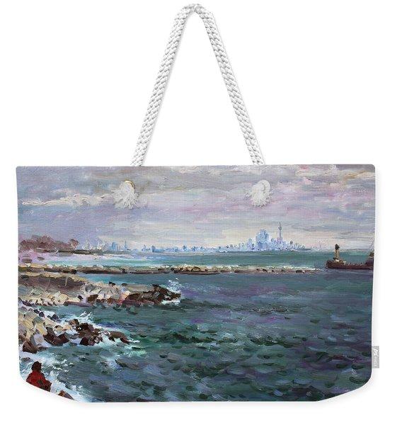 By Lakeshore Mississauga Weekender Tote Bag