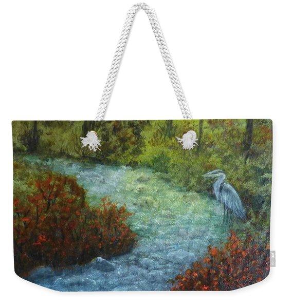 By The Brook Weekender Tote Bag