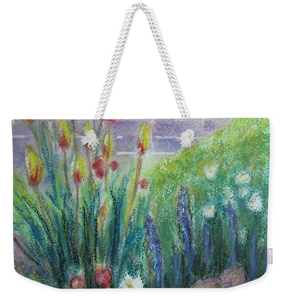 By The Garden Wall Weekender Tote Bag