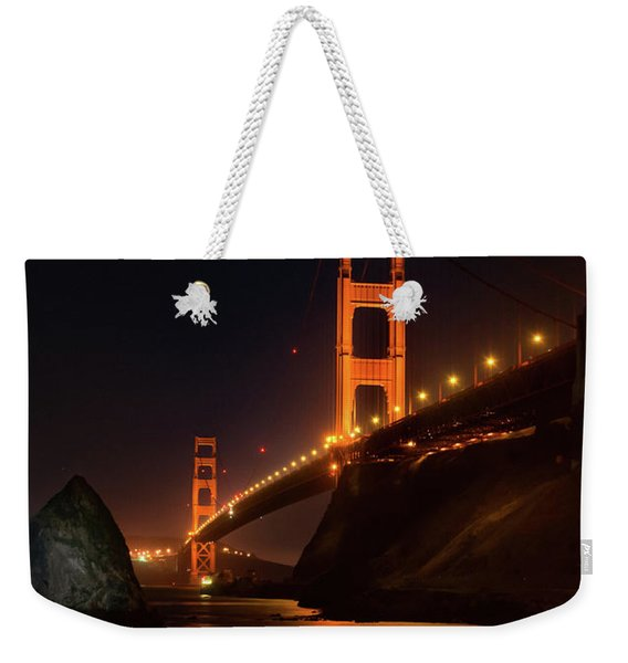 By The Golden Gate Weekender Tote Bag