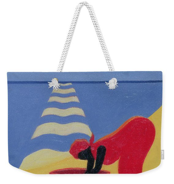 By The Sea Shore Weekender Tote Bag