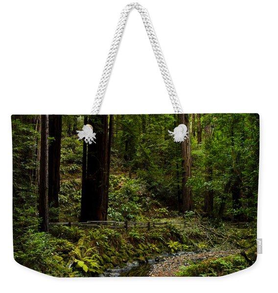 By The Stream In Muir Woods Weekender Tote Bag