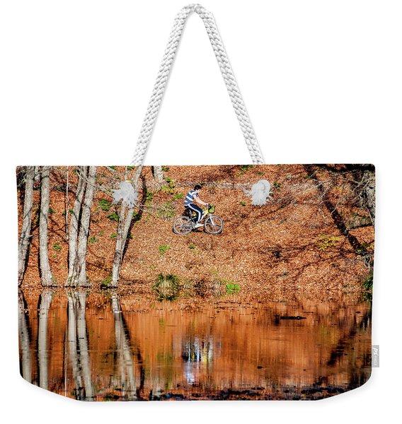 Bycyle Weekender Tote Bag