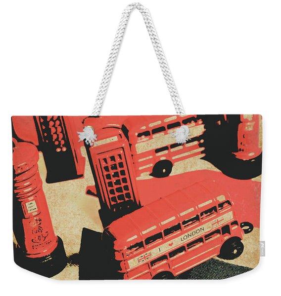 Bygone Britain 1983 Weekender Tote Bag