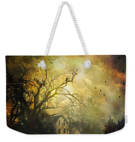 Bygone House On The Hill Weekender Tote Bag