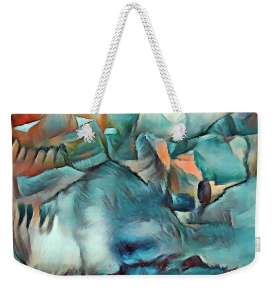 Byzantine Abstraction Weekender Tote Bag