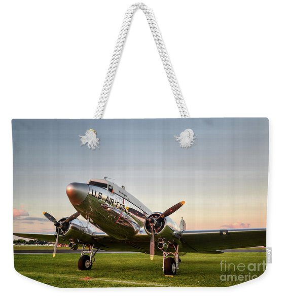 C-47 At Dusk Weekender Tote Bag