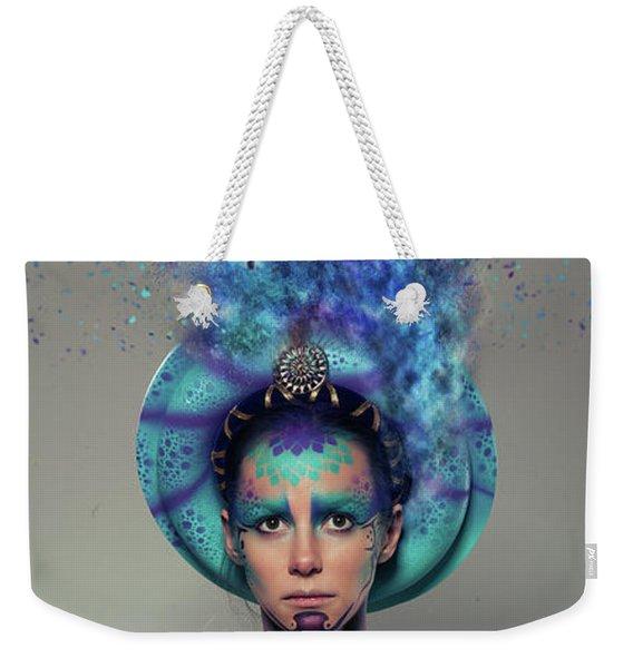 C R A Z Y Weekender Tote Bag
