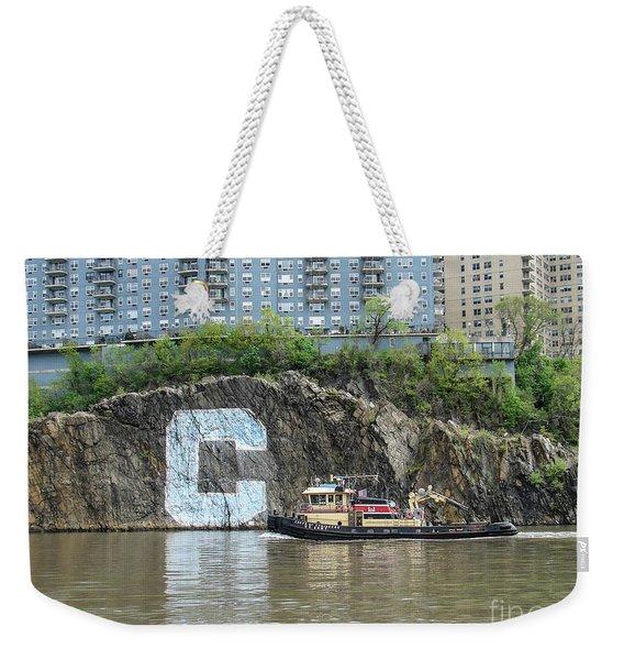 C Rock With Tug Weekender Tote Bag