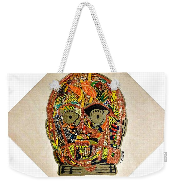 C3po Star Wars Afrofuturist Collection Weekender Tote Bag