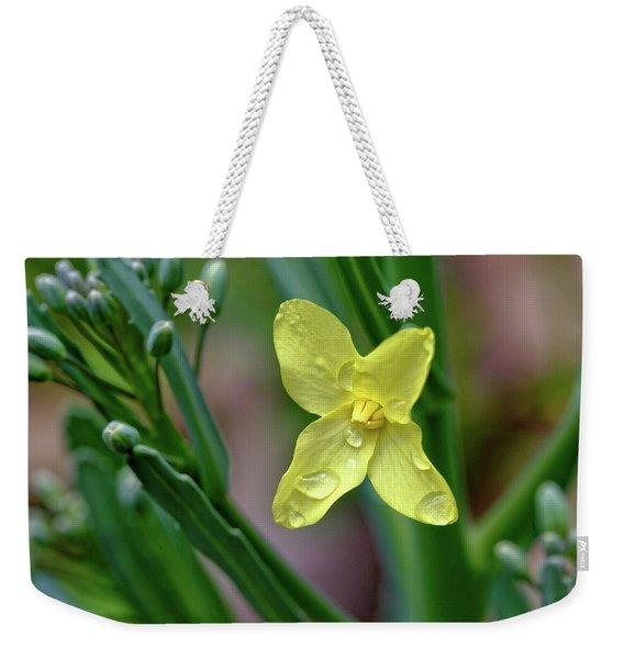 Cabbage Blossom Weekender Tote Bag