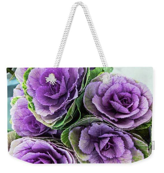 Cabbage Flower Weekender Tote Bag