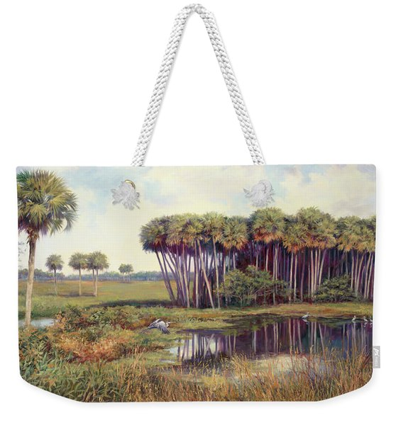 Cabbage Palm Hammock Weekender Tote Bag
